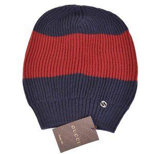 Gucci Men's Wool Interlocking GG Beanie Ski Hat